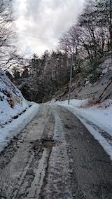 20151204山へ向かう途中の様子峠道3