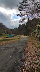 20151205山へ向かう途中の様子峠道1