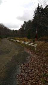 20151206山へ向かう途中の様子峠道