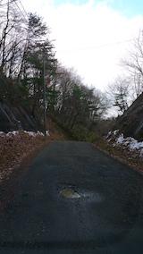 20151206山からの帰り道の様子峠道