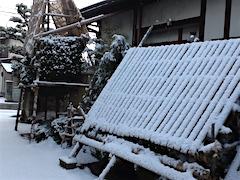 20160110雪の積もった会津の様子2
