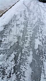 20160111道路がツルツル