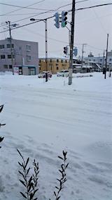 20160113外の様子雪寄せ前2