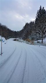 201601113山へ向かう途中の様子峠道
