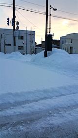 20160209雪寄せ途中