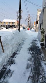20160209雪寄せ後3