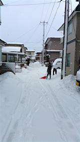20160210雪寄せ