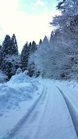 20160210山へ向かう途中の峠道3
