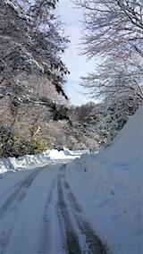 20160210山からの帰り道の様子峠道3