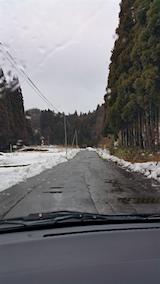 20160229山からの帰り道の様子峠道