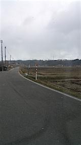 20160312山へ向かう途中の様子田んぼ
