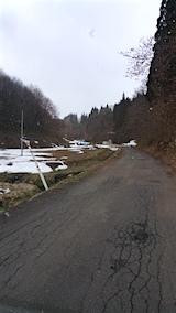20160312山へ向かう途中の様子峠道1