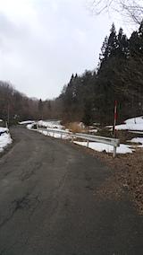 20160312山へ向かう途中の様子峠道2