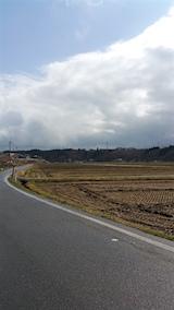 20160320山へ向かう途中の様子田んぼ