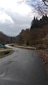 20160320山へ向かう途中の様子峠道