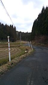 20160320山からの帰り道の様子峠道