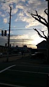 20160320外の様子夕方