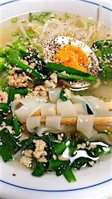 20160415お昼ご飯盛岡温麺カルビスープ