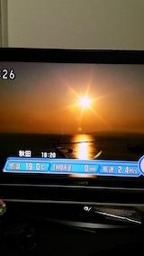 20160610夕日NHKテレビ