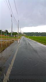 20160628山へ向かう途中の様子雨が降り出す1