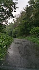 20160628山へ向かう途中の様子雨が降り出す3