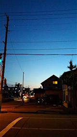 20160628外の様子夜のはじめ頃