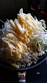 20160712晩ご飯野菜炒め1