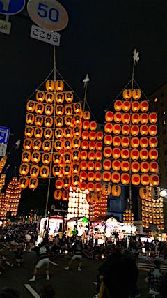 20160805秋田竿燈まつり3