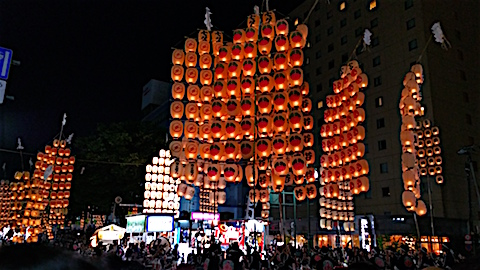 20160805秋田竿燈まつり6