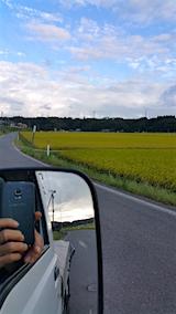20160909山へ向かう途中の様子田んぼ1
