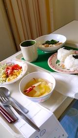 20160915病院食昼ご飯