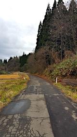 20161202山へ向かう途中の様子峠道2