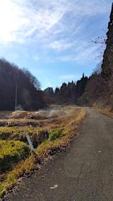 20161204山へ向かう途中の様子峠道