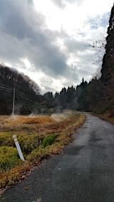 20161205山へ向かう途中の様子峠道