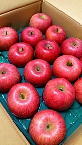 20161205会津からリンゴが届く2