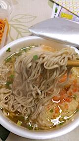 20161206お昼ご飯インスタント天ぷらそば2