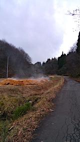 20161206山へ向かう途中の様子峠道