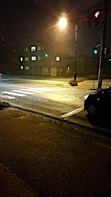 20161206外の様子夜のはじめ頃雪2