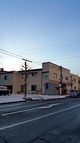 20161208外の様子朝日