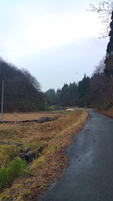 20161214山へ向かう途中の様子峠道