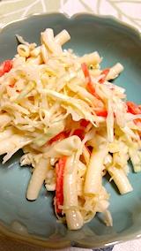 20170109マカロニと野菜のサラダ