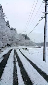20170110山へ向かう途中の様子田んぼ2