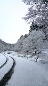 20170110山へ向かう途中の様子田んぼ峠道