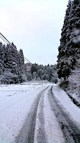 20170110山からの帰り道の様子峠道