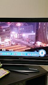 20170110秋田駅前の様子NHKテレビから