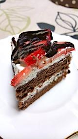 20170111デザートチョコレートケーキ