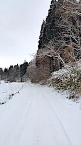 20170111山へ向かう途中の様子峠道