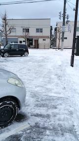 20170112雪寄せ後の様子2