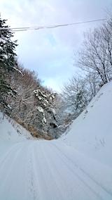 20170112山からの帰り道の様子峠道2