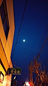20170121外の様子お月さま